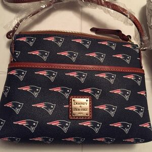 New Dooney & Bourke Patriots Football Crossbody